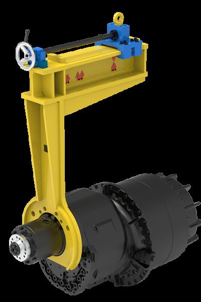 Montagevorrichtung-Getriebe